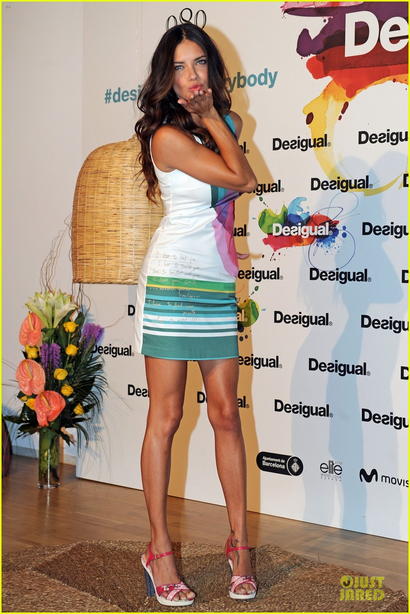 adriana lima desigual for everybody sex fun love event 082906832