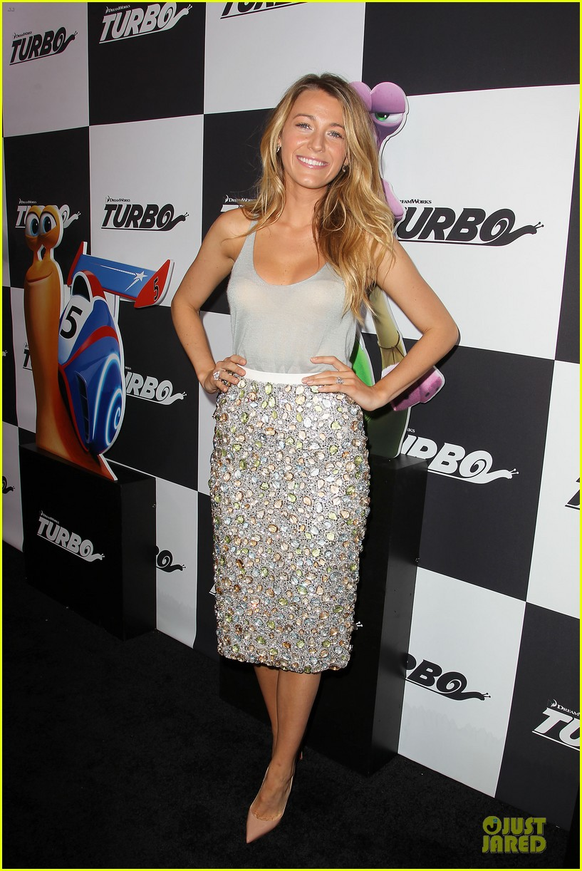 blake lively ryan reynolds turbo nyc premiere 072906723