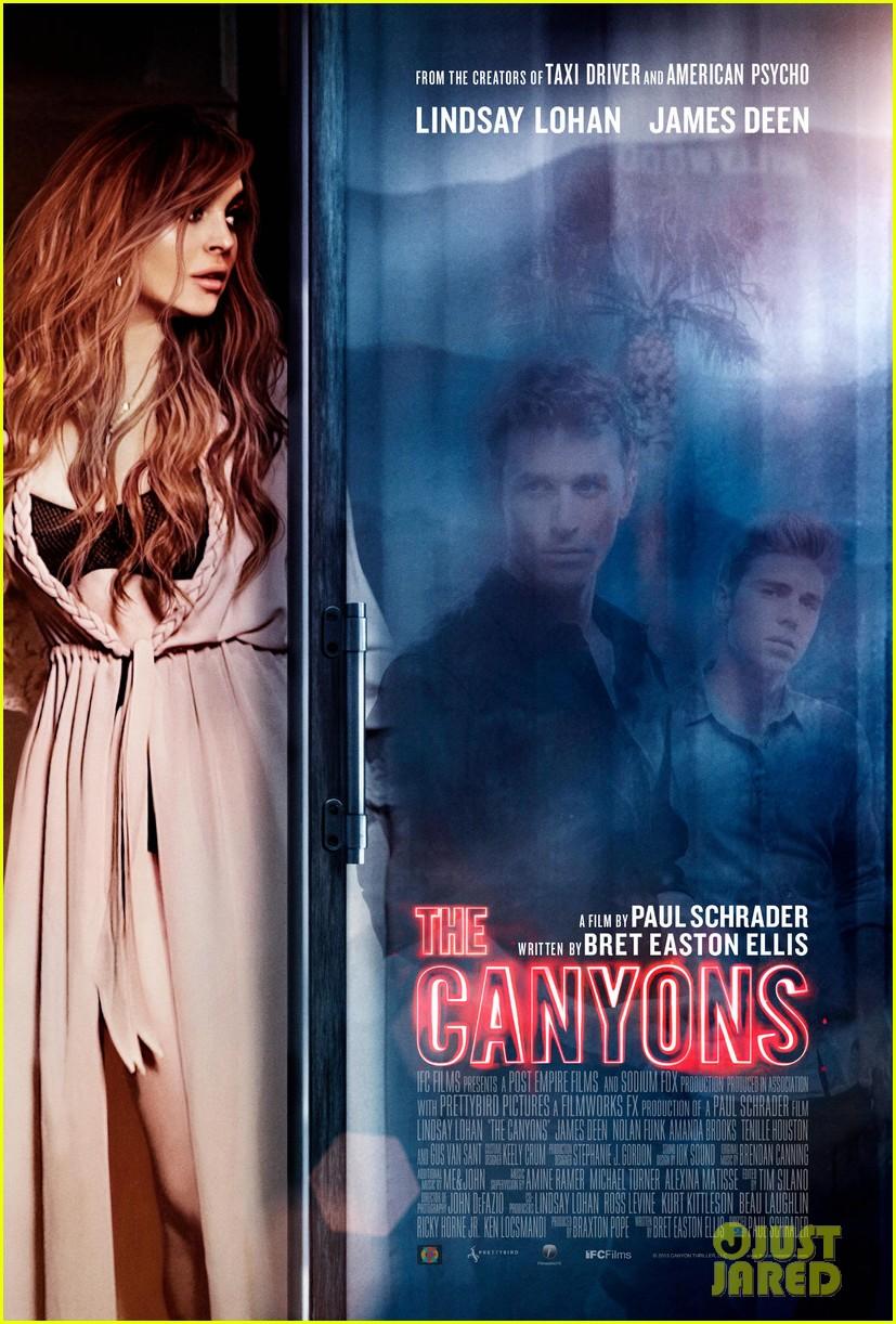 lindsay lohan canyons poster 012915889