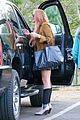 lindsay lohan released from rehab smiles while leaving 14