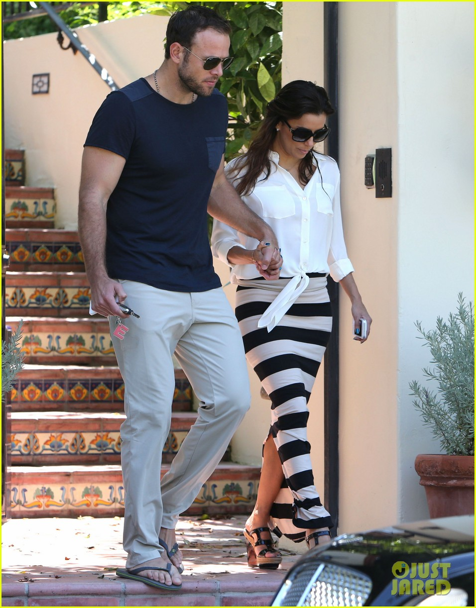 eva longoria ernesto aguello argo dinner after house hunting 222916983