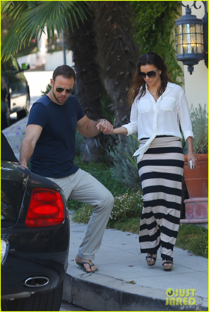 eva longoria ernesto aguello argo dinner after house hunting 292916990