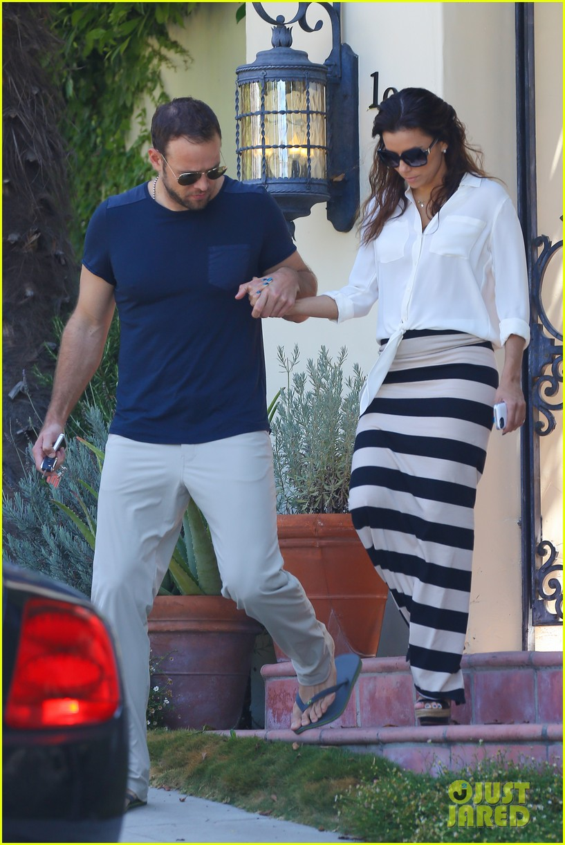 eva longoria ernesto aguello argo dinner after house hunting 352916996