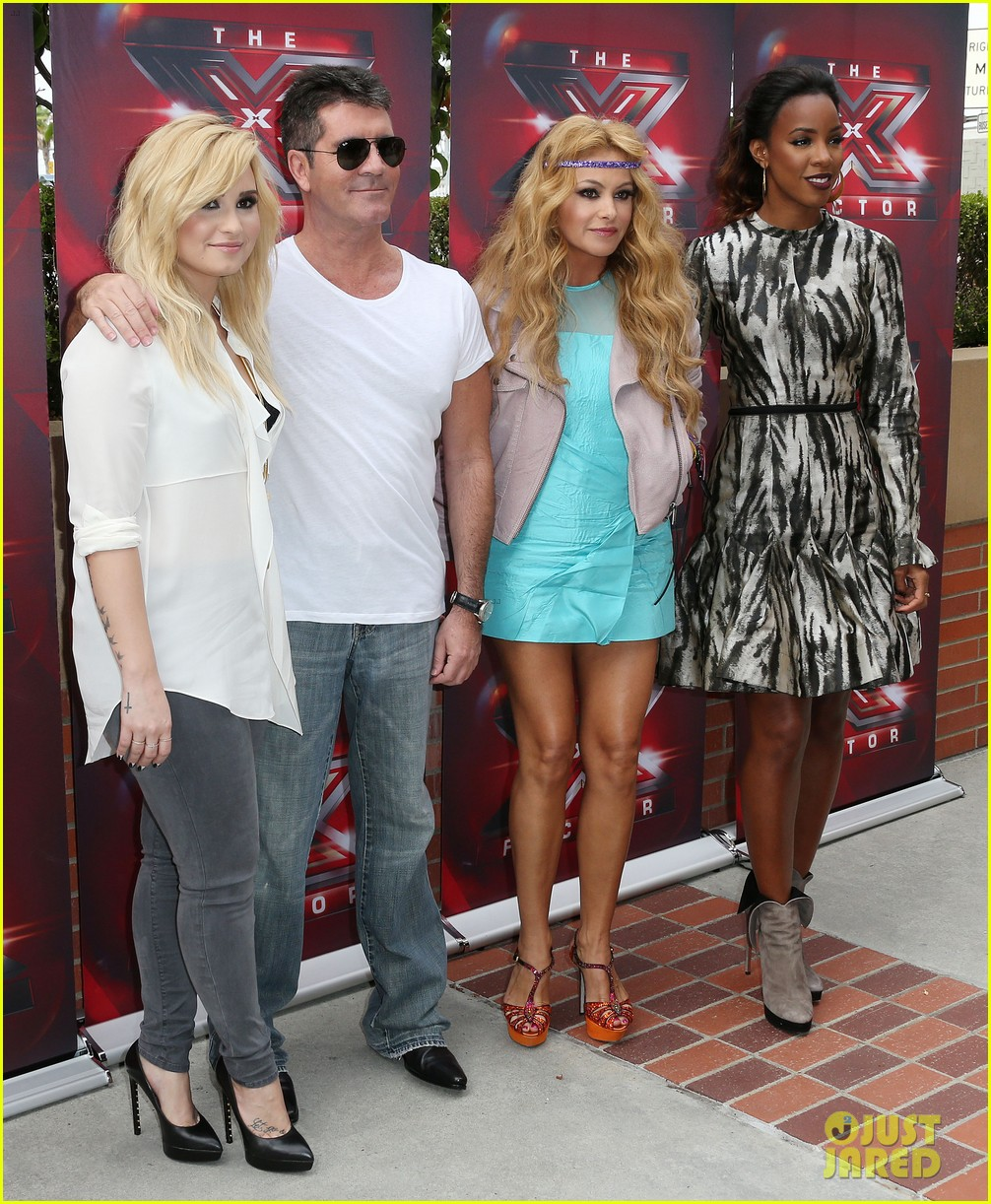 demi lovato kelly rowland x factor la auditions day two 032908141