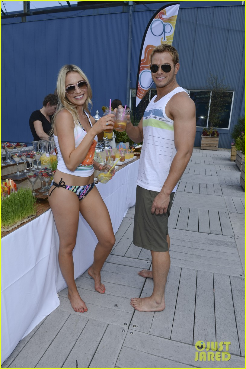 kellan lutz katrina bowden ops surf for life event hosts 082920239