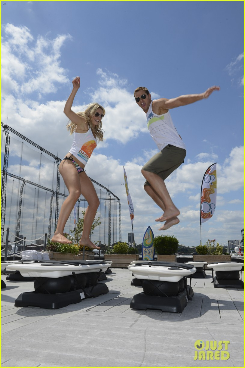 kellan lutz katrina bowden ops surf for life event hosts 172920248