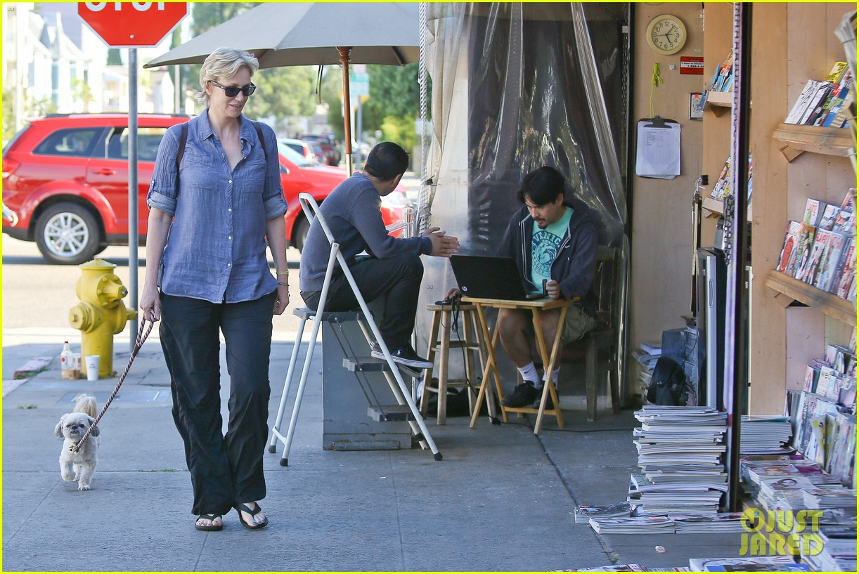jane lynch cory monteith memorial was beautiful 082917036