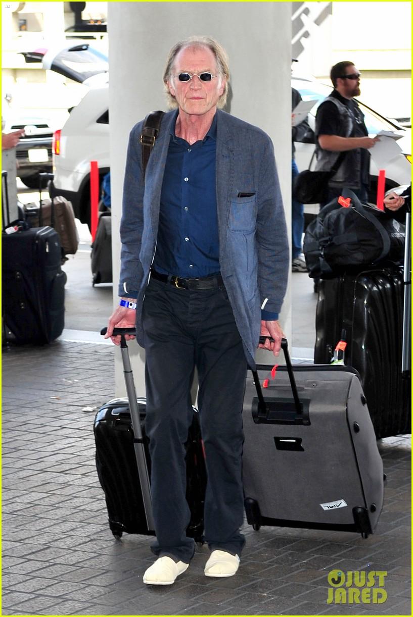 richard madden jenna coleman lots of luggage at lax 092917826