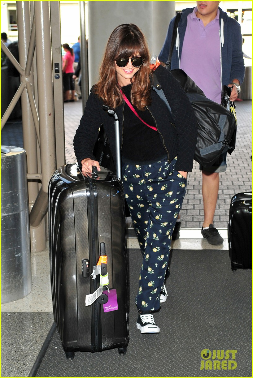 richard madden jenna coleman lots of luggage at lax 202917837