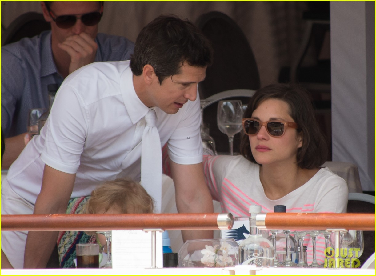 marion cotillard guillaume canet monaco jumping show marcel 012901292