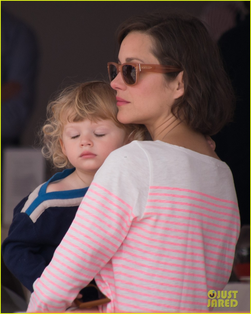 marion cotillard guillaume canet monaco jumping show marcel 062901297