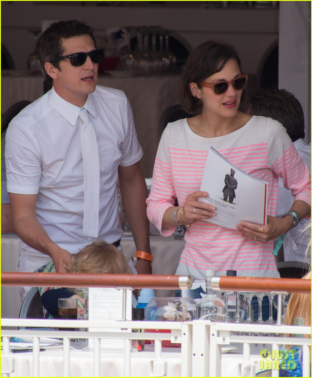 marion cotillard guillaume canet monaco jumping show marcel 092901300
