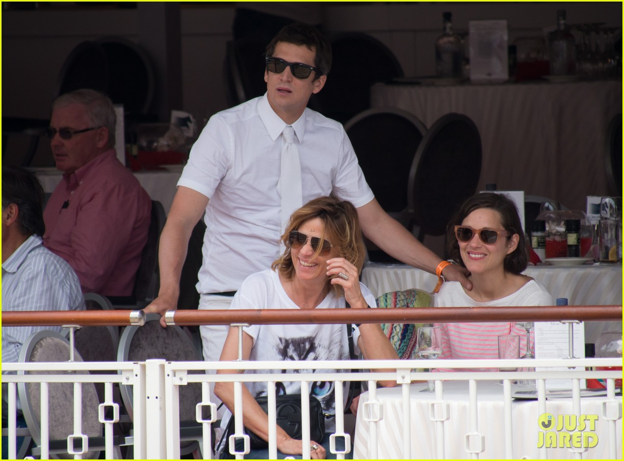 marion cotillard guillaume canet monaco jumping show marcel 10