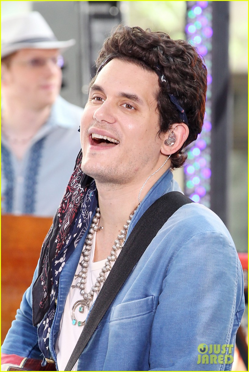 john mayer today show performance 022904389