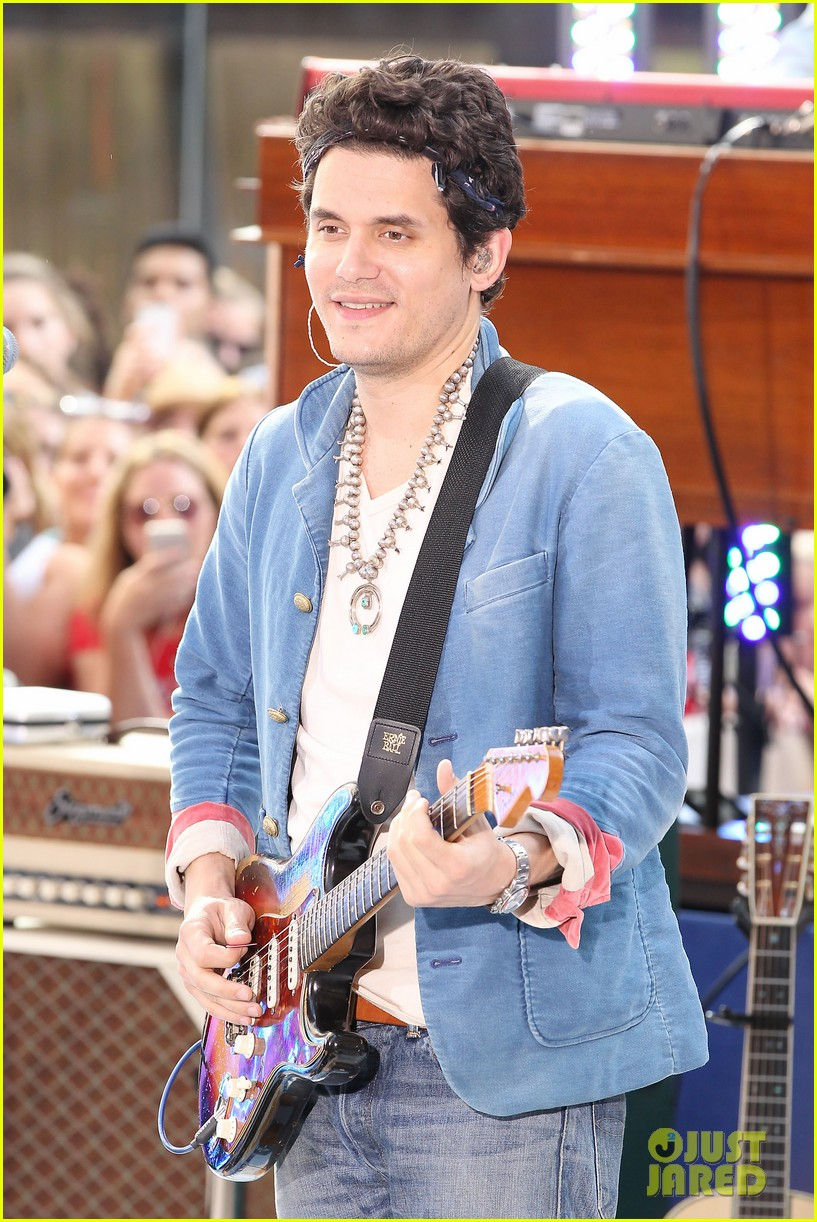 john mayer today show performance 102904397
