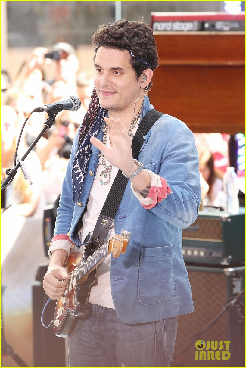 john mayer today show performance 132904400