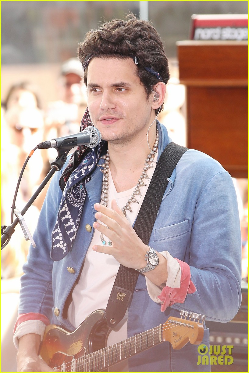 john mayer today show performance 172904404