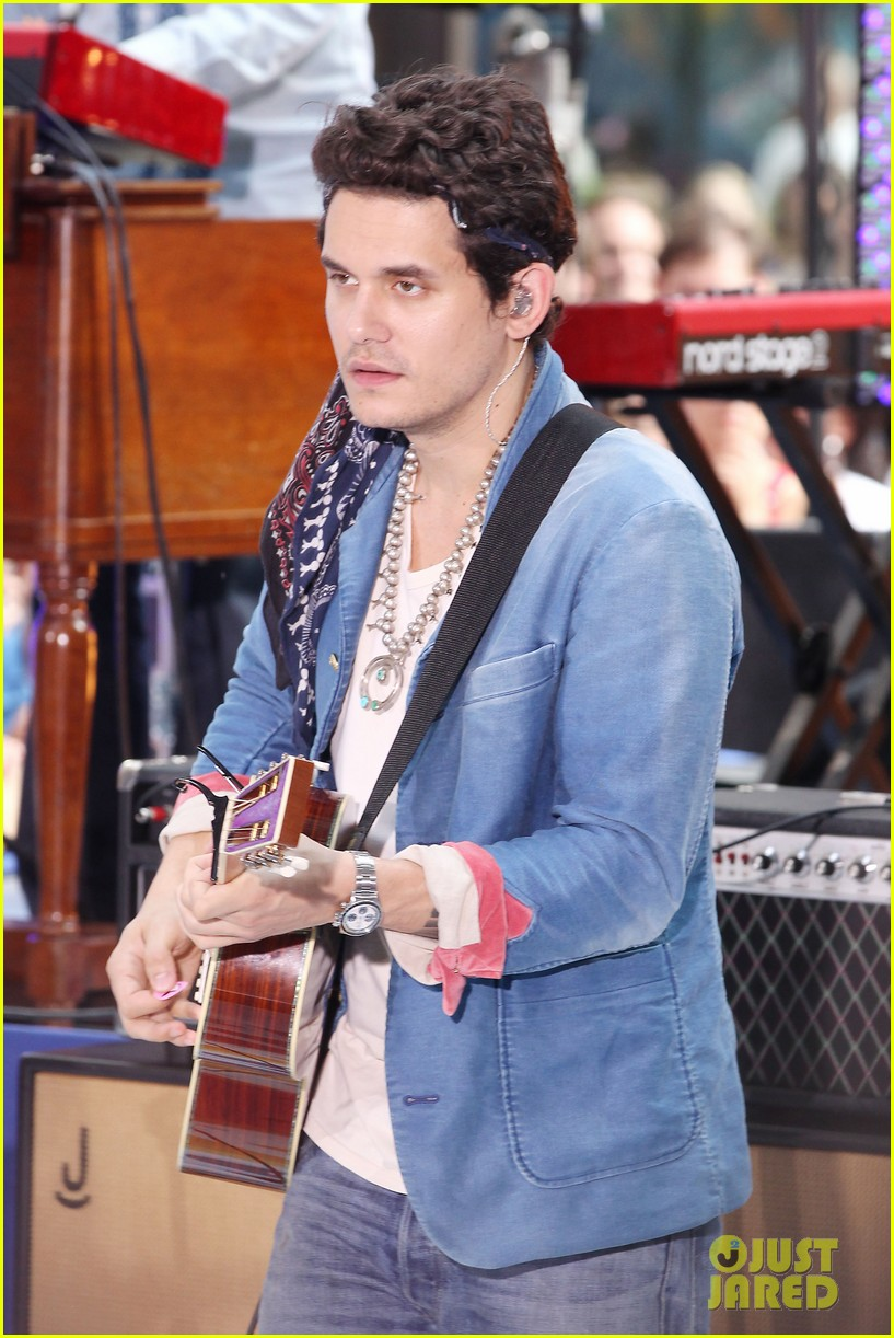john mayer today show performance 282904415