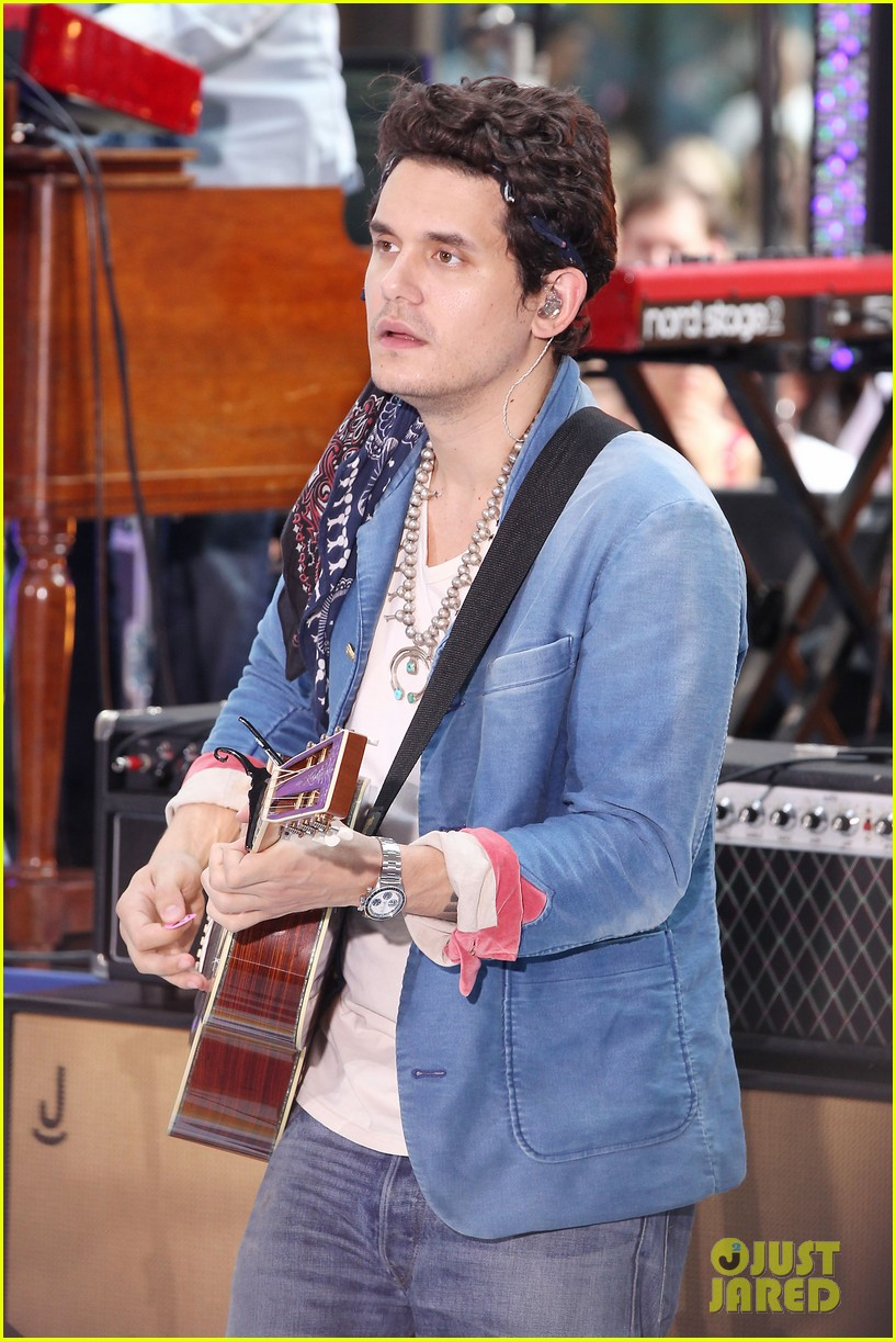 john mayer today show performance 29