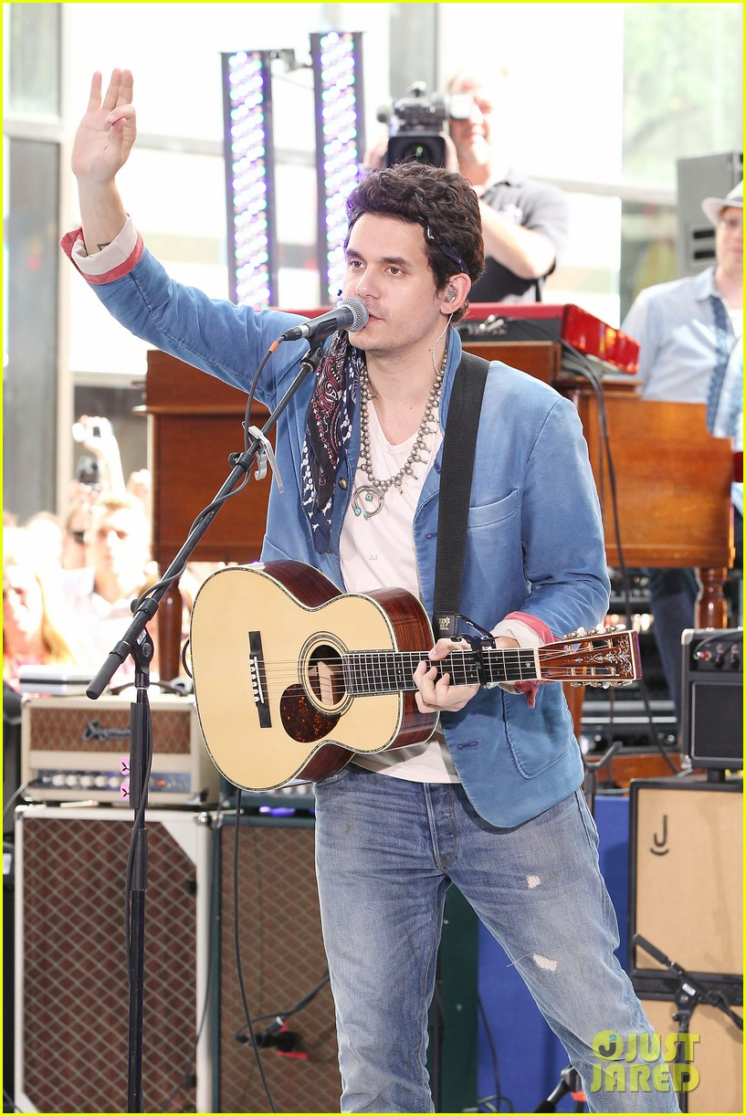 john mayer today show performance 322904419