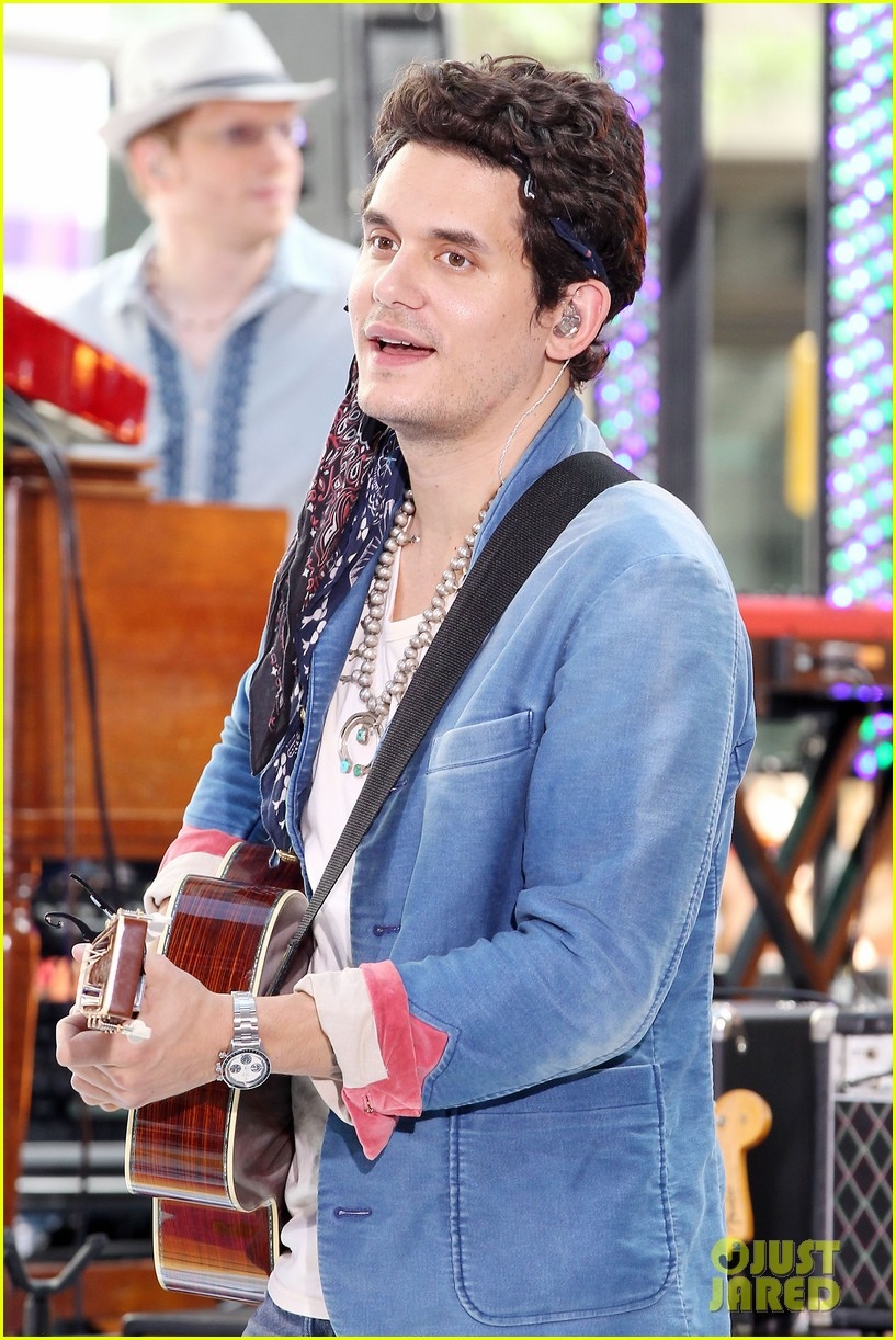 john mayer today show performance 362904423