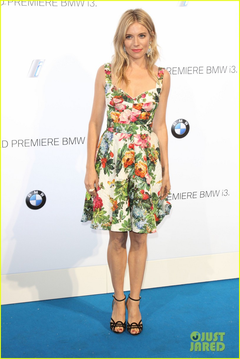 sienna miller james franco bmwi3 global reveal party 062920031