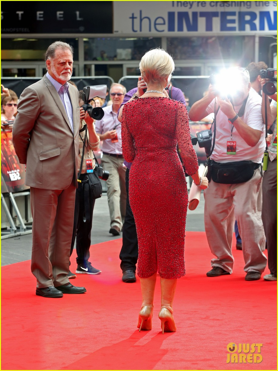 helen mirren bruce willis red 2 london premiere 062914673
