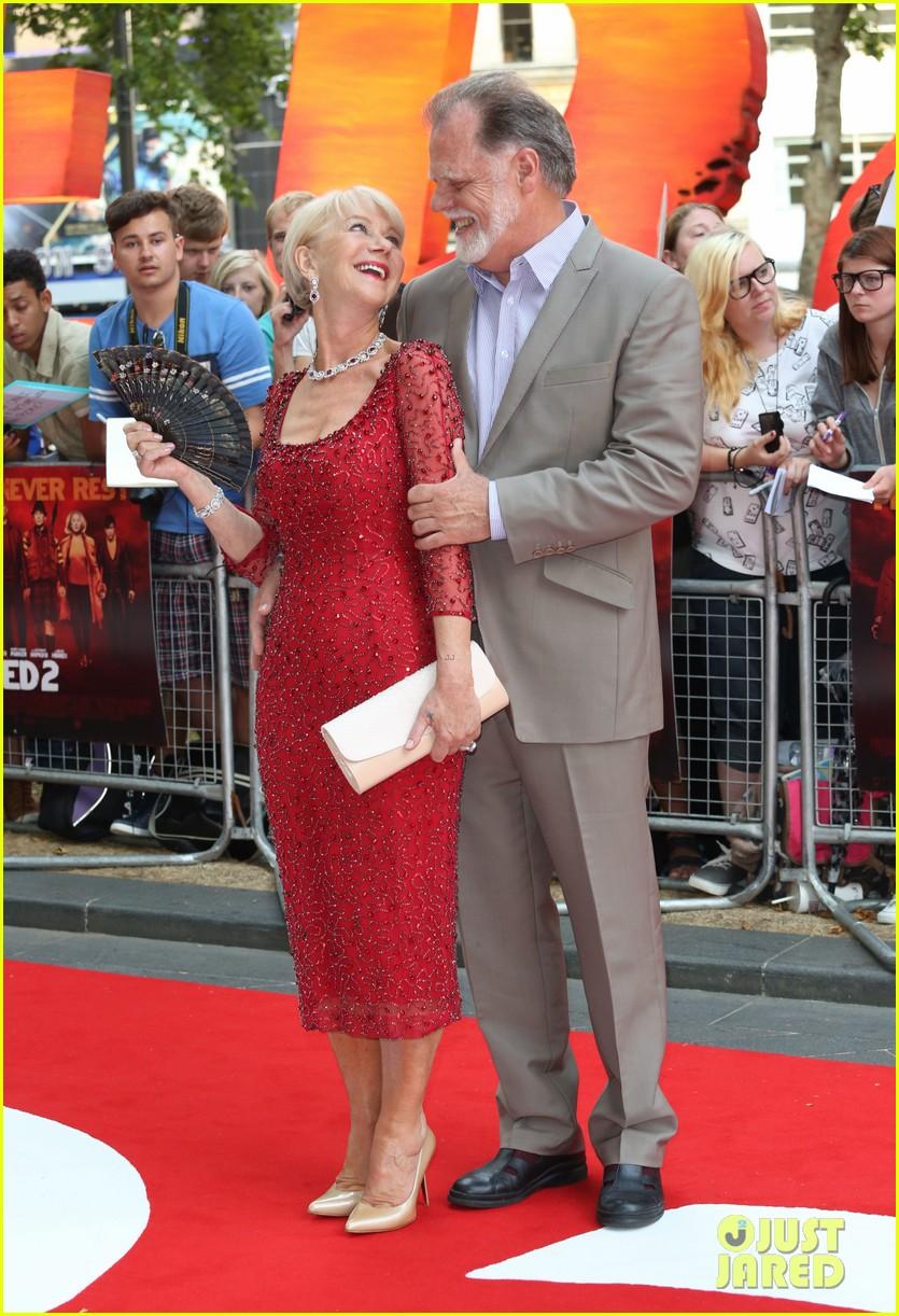helen mirren bruce willis red 2 london premiere 102914677
