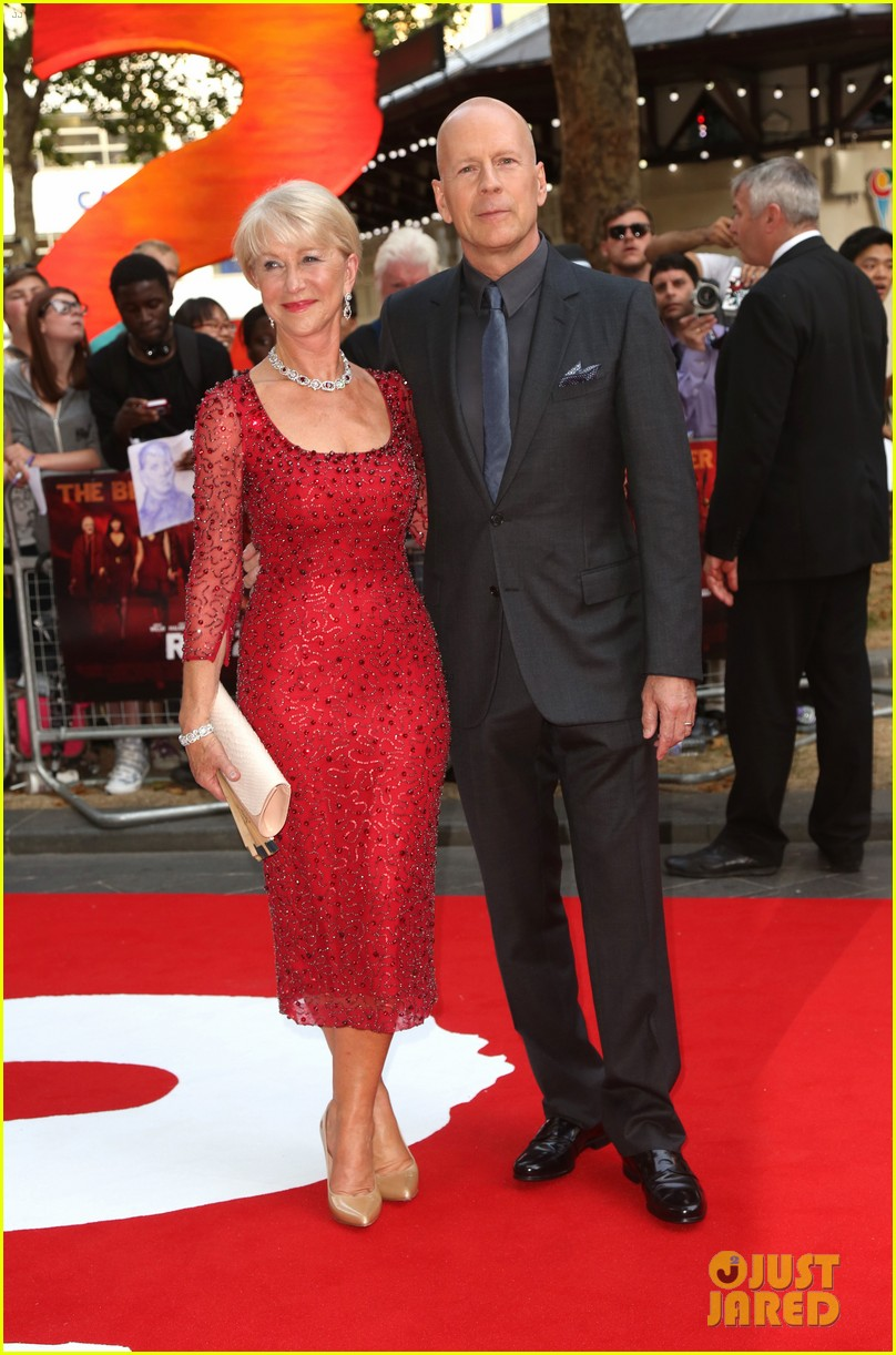 helen mirren bruce willis red 2 london premiere 172914684