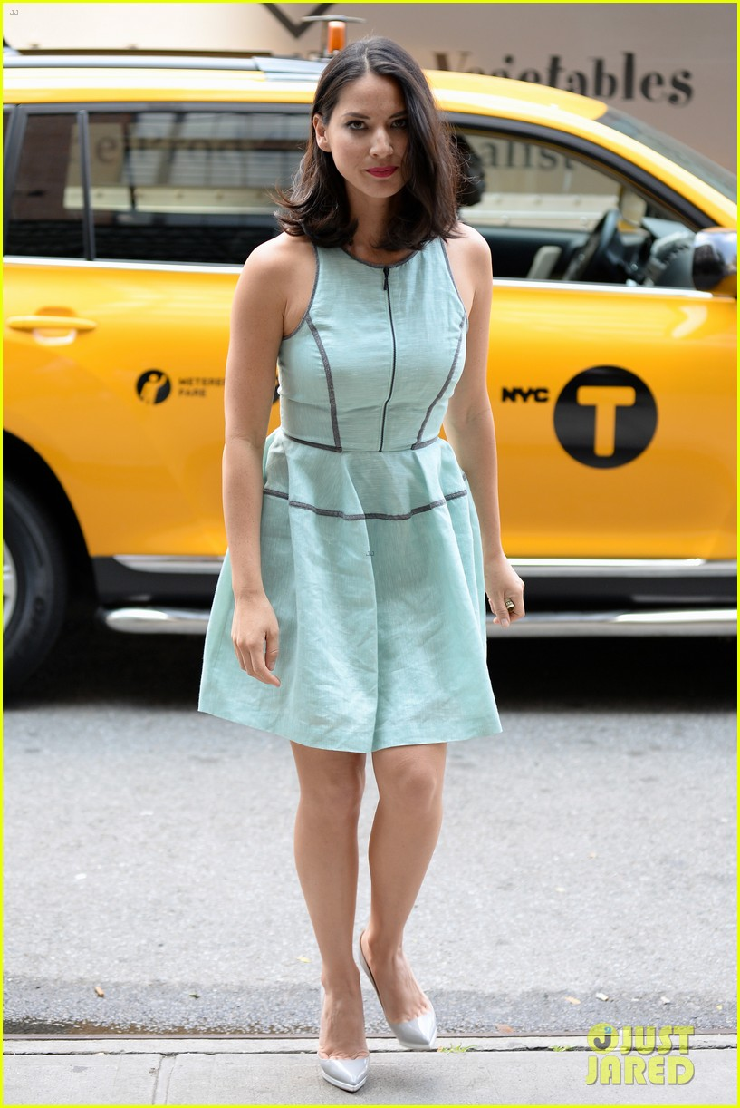 olivia munn live with kelly michael appearance 132906013
