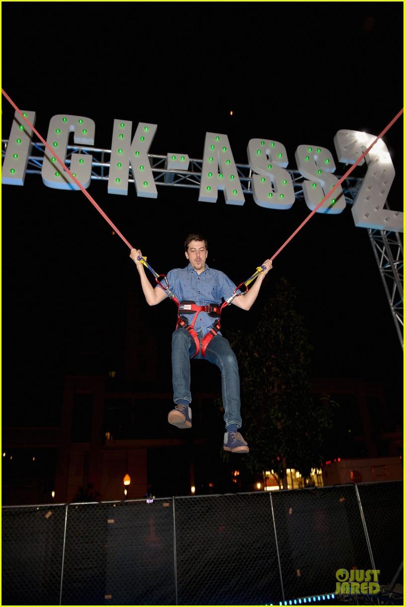 olivia joel kinnaman kick ass party at comic con 09