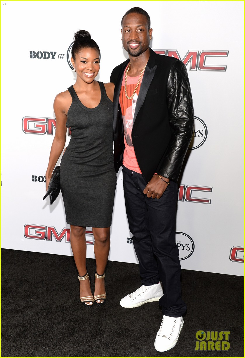 chad michael murray gabrielle union espn body issue party 032910731