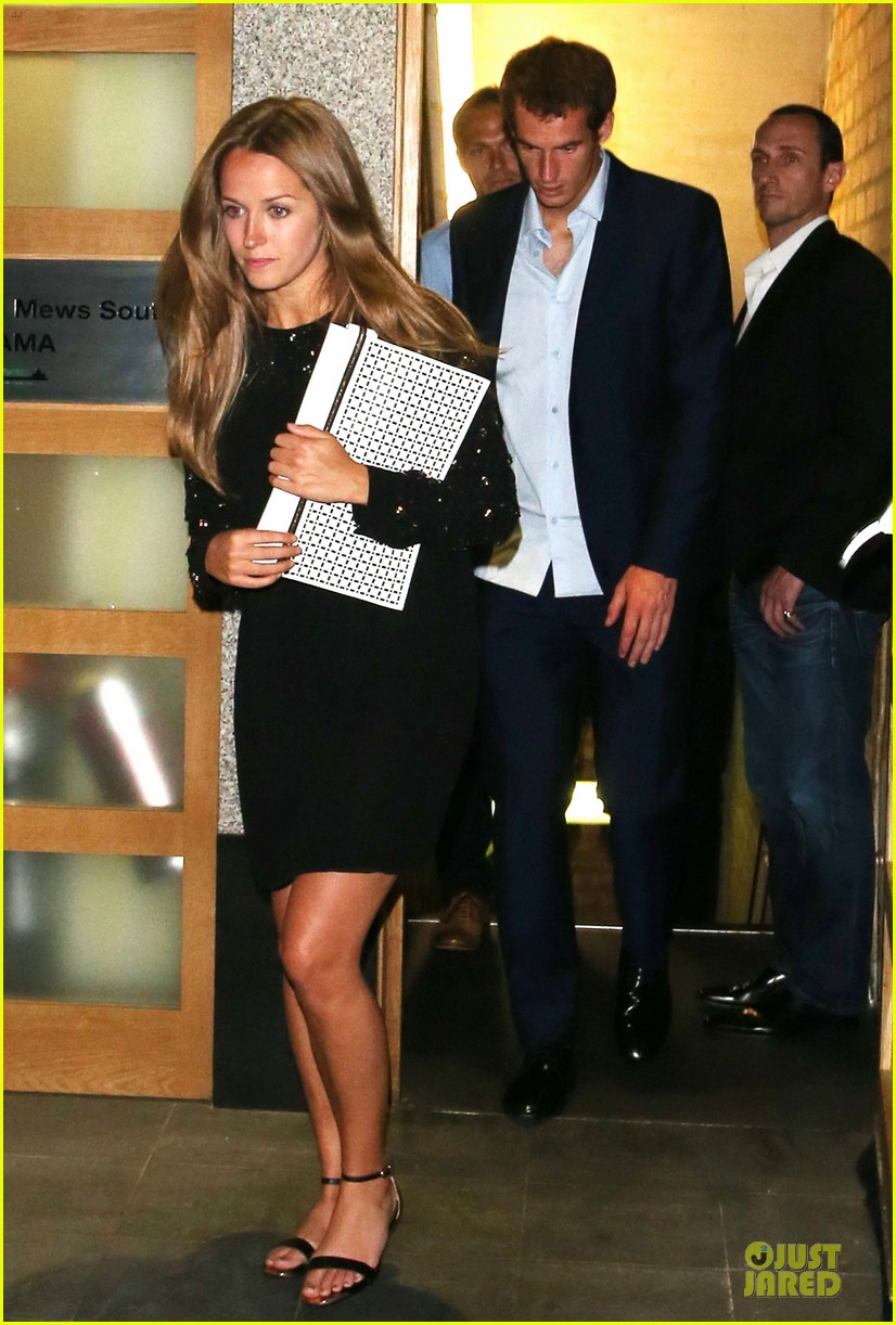 andy murray kim sears nobu dinner date after wimbledon photo call 052906346