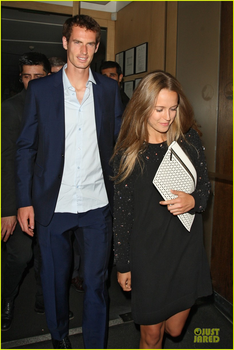 andy murray kim sears nobu dinner date after wimbledon photo call 112906352
