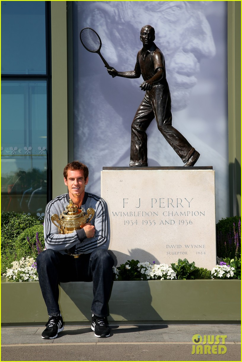 andy murray wimbledon winners photo call 042906125