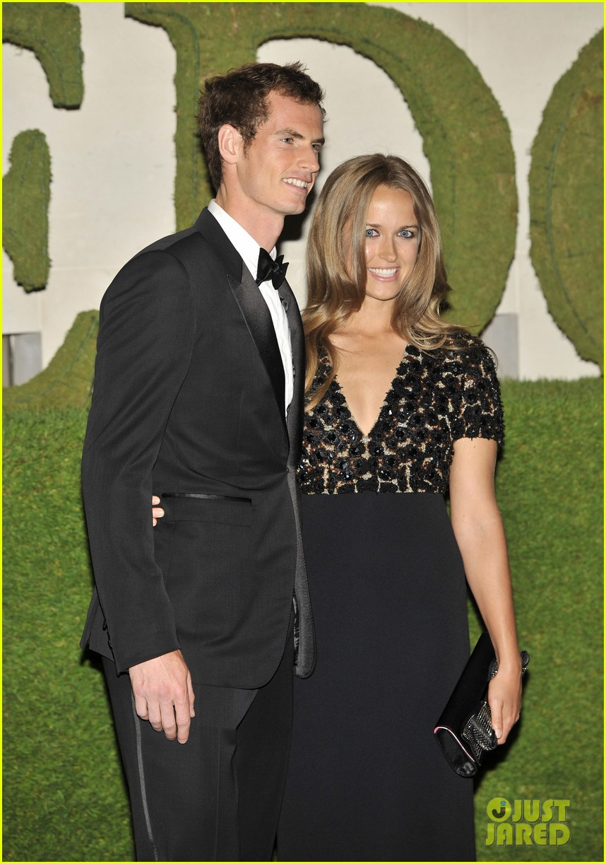 andy murray wimbledons winners ball with kim sears 022905702