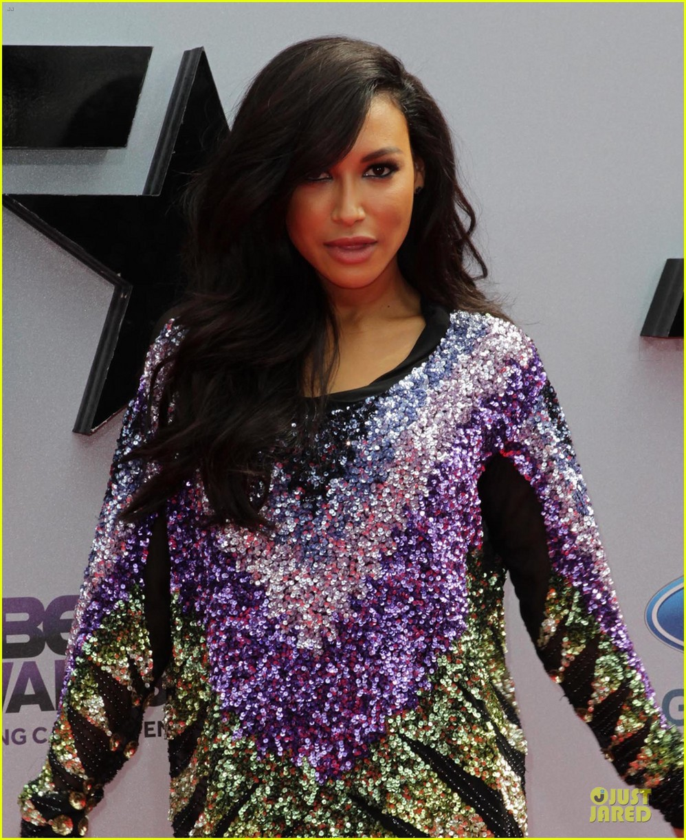 naya rivera big sean bet awards 2013 red carpet 022901801