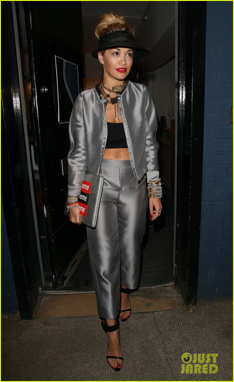 rita ora werkin it in the studio 082908406