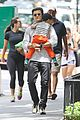 orlando bloom takes flynn to central park miranda kerr hits jfk 13