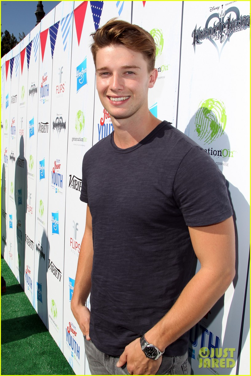 patrick schwarzenegger joey king power of youth 2013 122918285