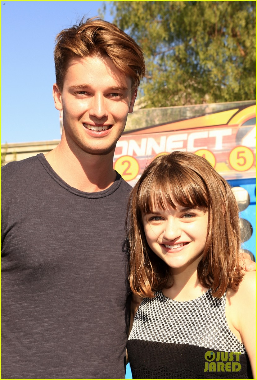 patrick schwarzenegger joey king power of youth 2013 242918297