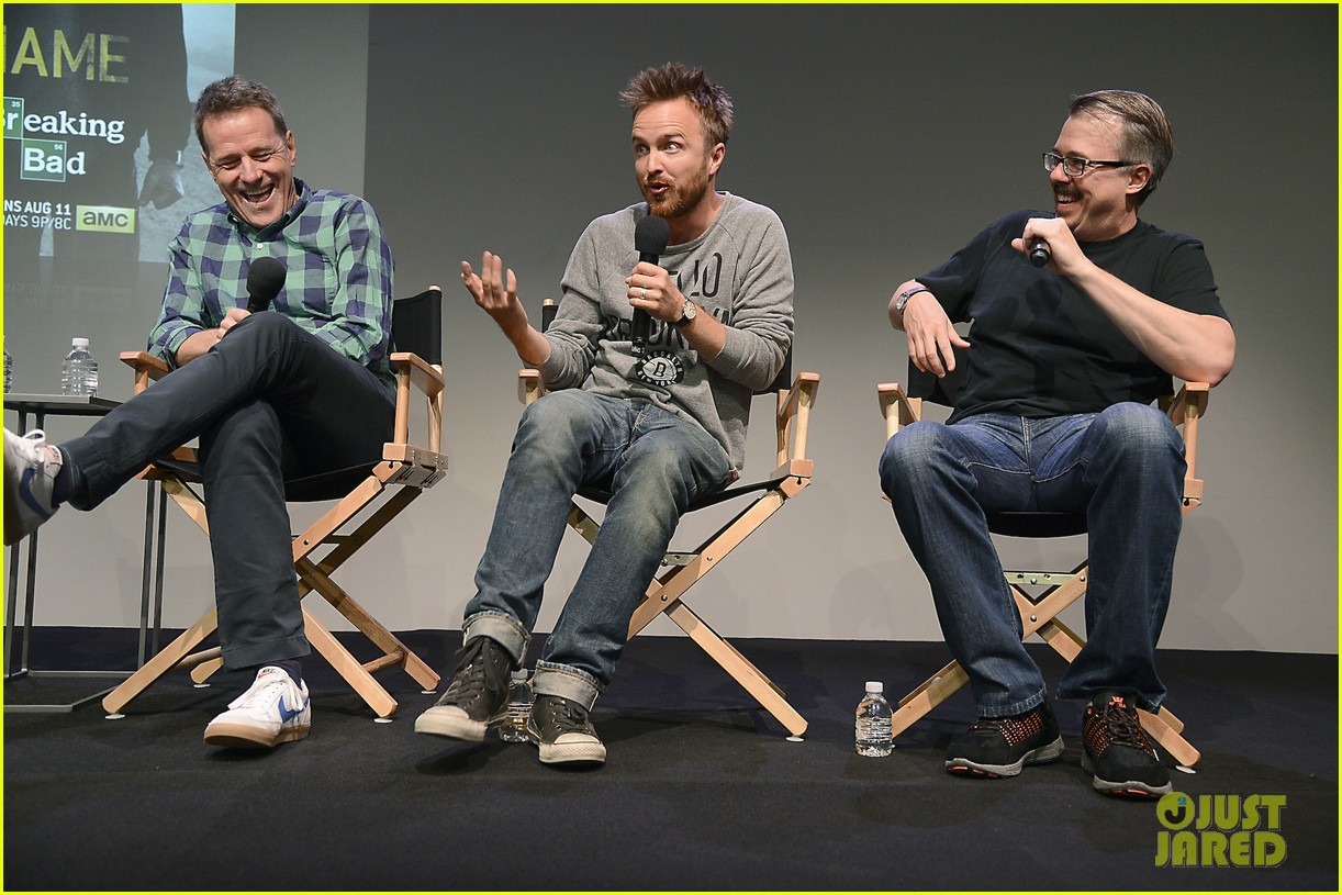 aaron paul bryan cranston breaking bad apple store promo 042920174