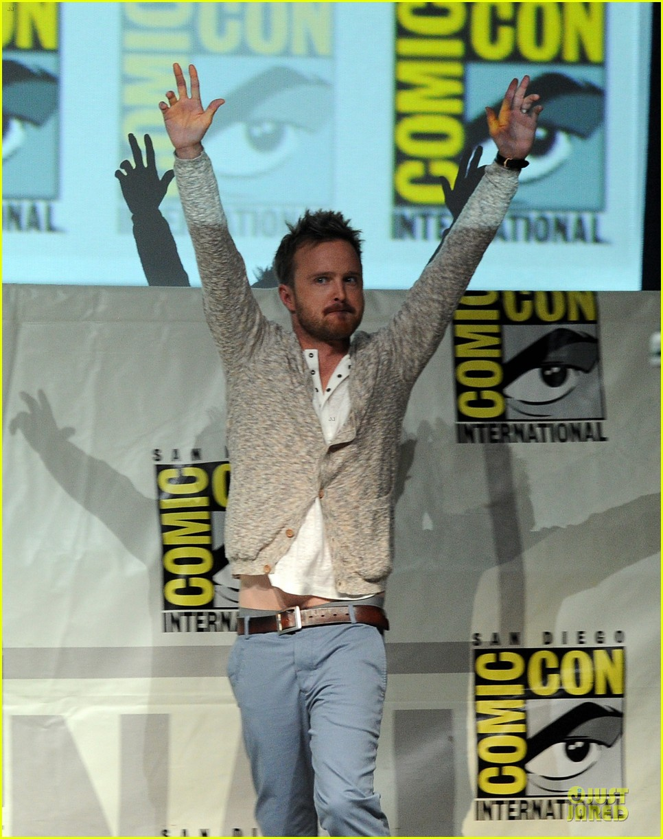 aaron paul bryan cranston breaking bad panel at comic con 052914269