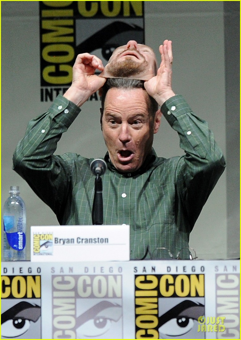 aaron paul bryan cranston breaking bad panel at comic con 062914270
