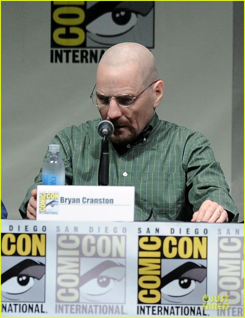 aaron paul bryan cranston breaking bad panel at comic con 072914271