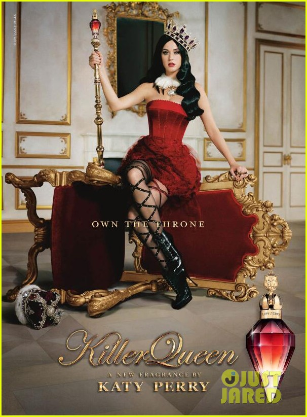 katy perry killer queen new fragrance ad 012917446