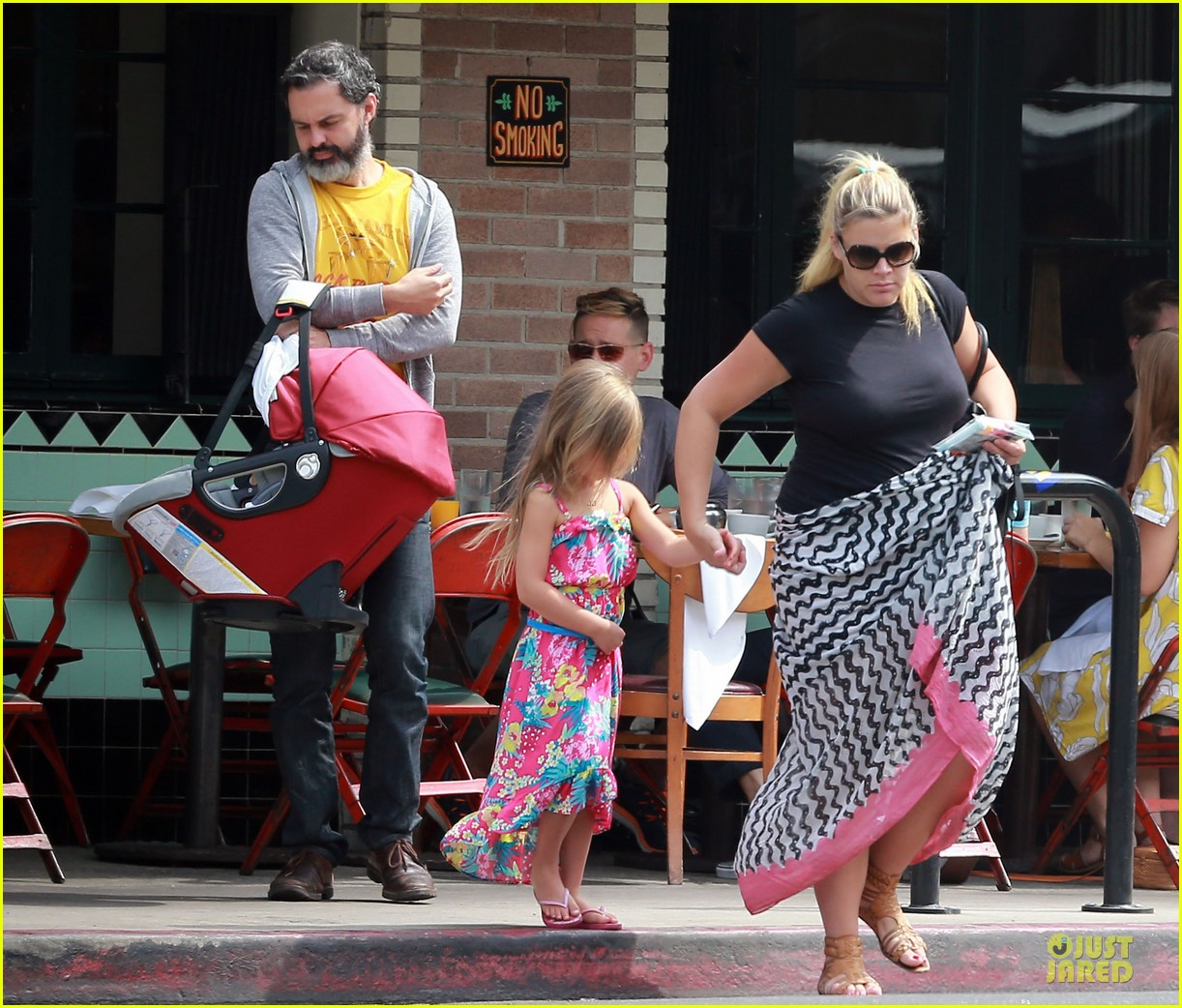 busy philipps post baby body at little doms 162914362