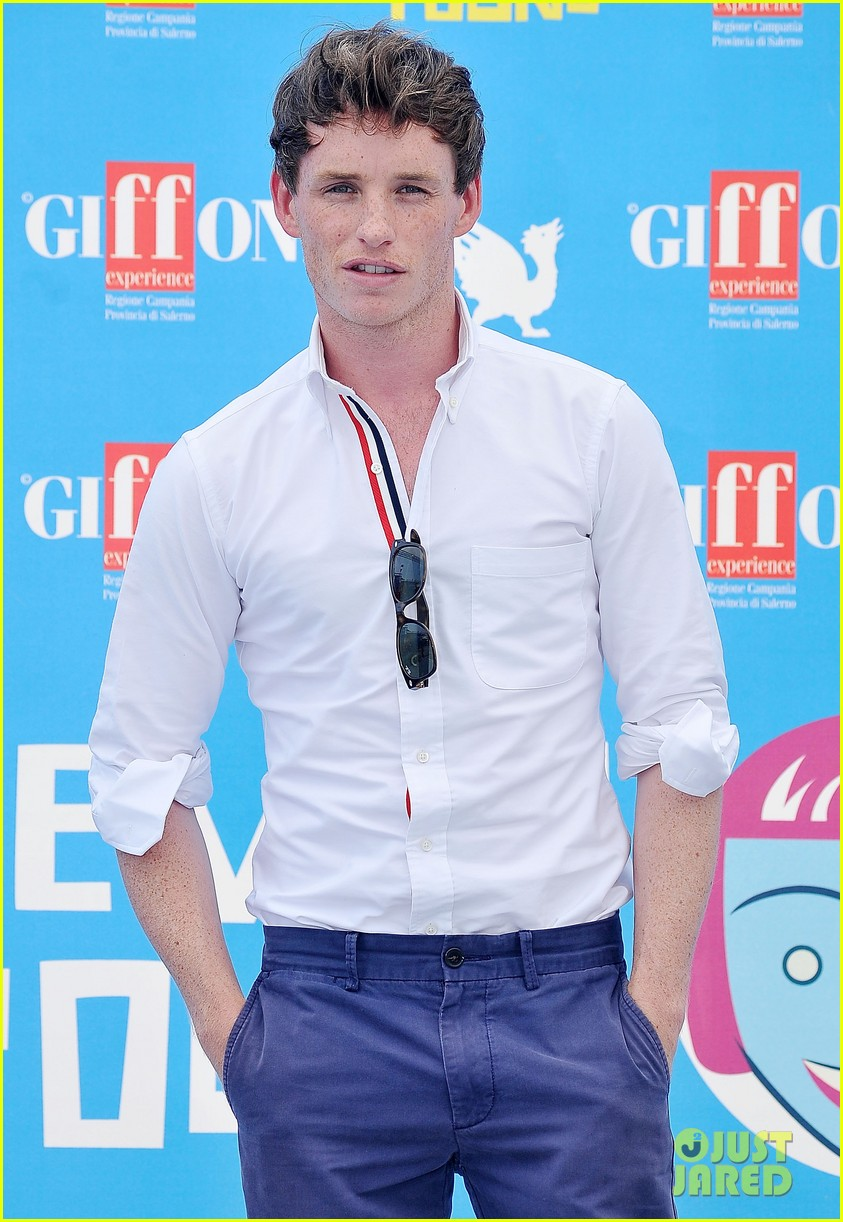 eddie redmayne giffoni film festival photo call 07