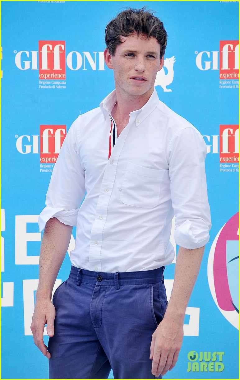 eddie redmayne giffoni film festival photo call 12