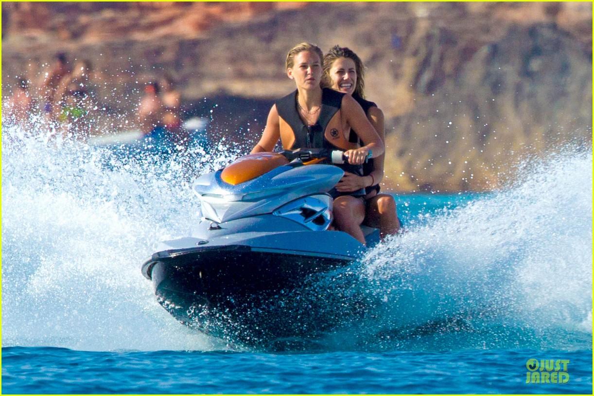 bar refaeli bikini jet skiing babe in ibiza 022914833